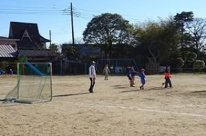 サッカー好きの子どもたち