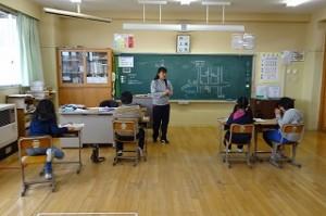 4年生は「鹿島城」の勉強をしていました。どんなお城だったのだろう?\